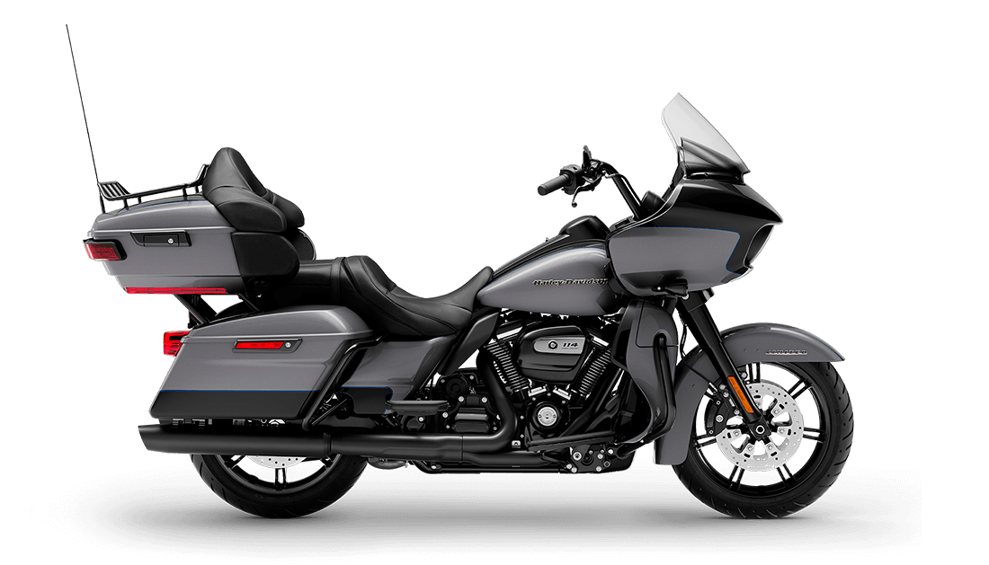 2021 Harley-Davidson® Road Glide® Limited Gauntlet Gray Metallic / Vivid Black – Black Finish
