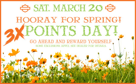 Triple Points Day!