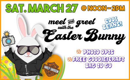 Meet & Greet With The Easter Bunny!