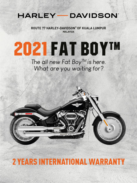 2021 Harley-Davidson Fat Boy