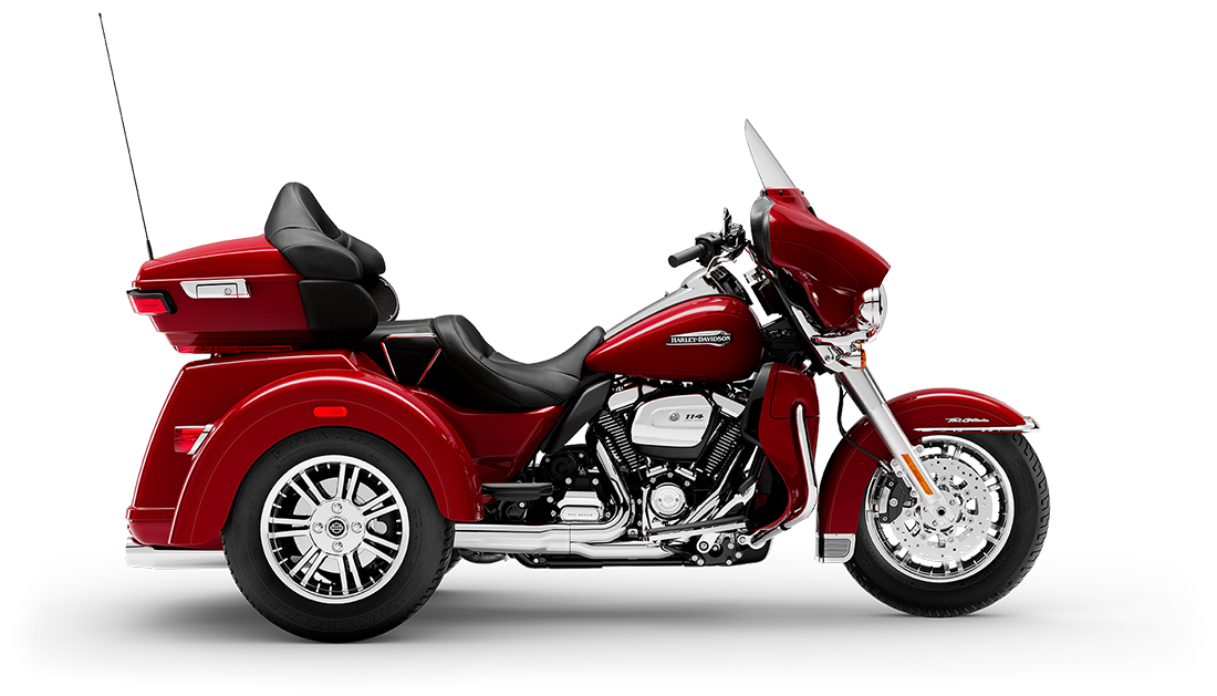 2021 Harley-Davidson® Tri Glide® Ultra Billiard Red