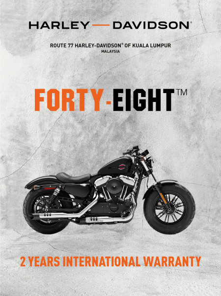 The Harley-Davidson Forty-Eight