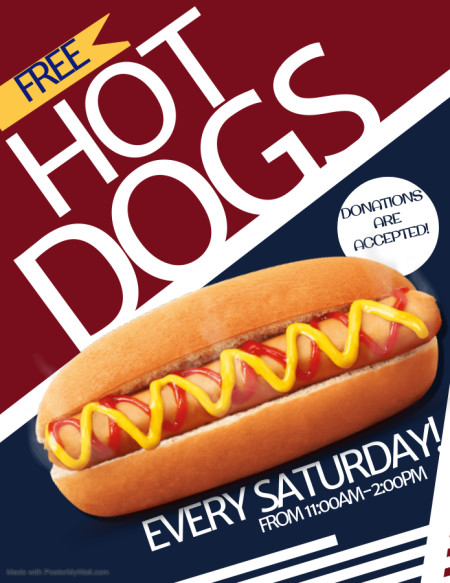 HOT DOG SATURDAYS!