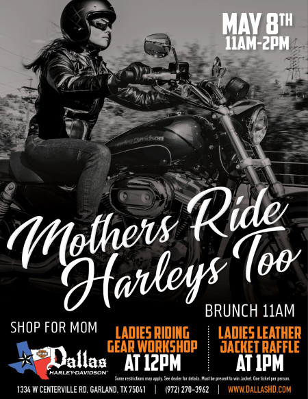 Mothers Day Event at Dallas H-D