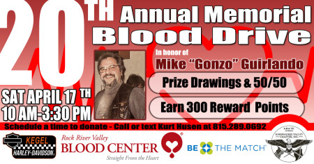 20th Annual Memorial Blood Drive