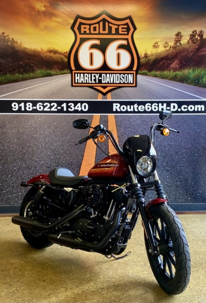 Billiard Red 2021 Harley-Davidson® Iron 1200™  XL1200NS