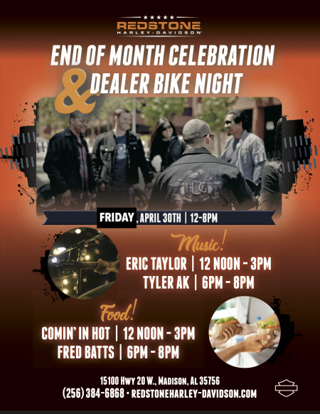 End of Month Celebration & Bike Night