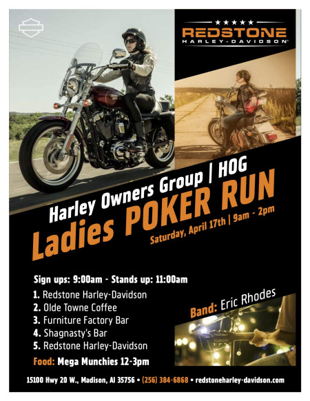 Ladies HOG Poker Run