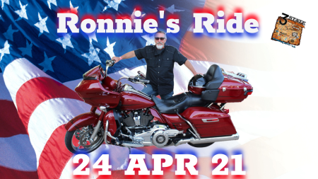 Ronnie's Ride for Woody's Home for Veterans