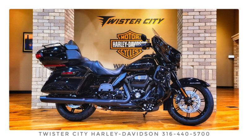 2021 Harley-Davidson® Ultra Limited – Black Finish : FLHTK for sale near Wichita, KS