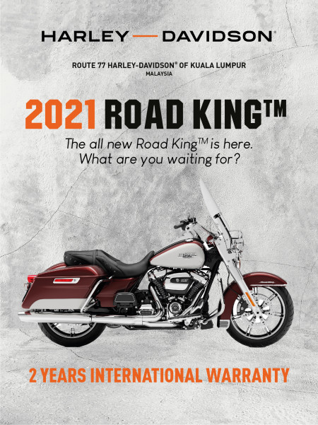 2021 HARLEY-DAVIDSON ROAD KING