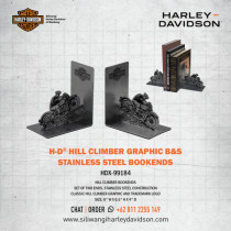 Hill Climber Bookends