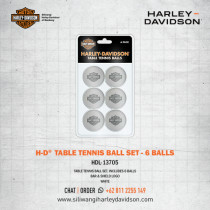 H-D B&S Table Tennis Ball Set (6)