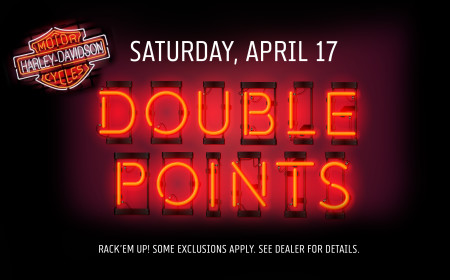 Double Points Day!