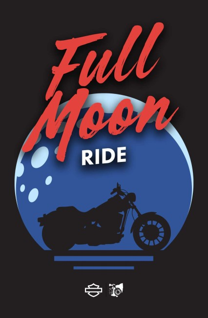 Full Moon Ride - Patch Ride