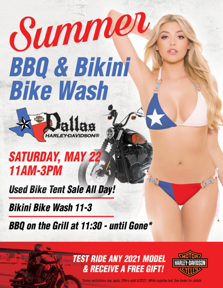 Summer BBQ & Bikini Bike Wash