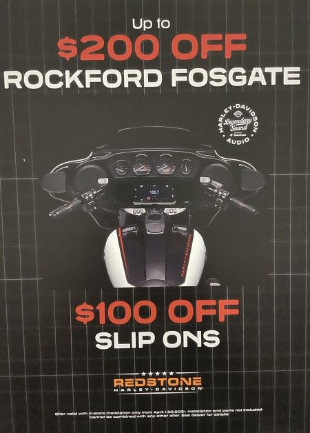 Up to $200 off Rockfor Fosgate