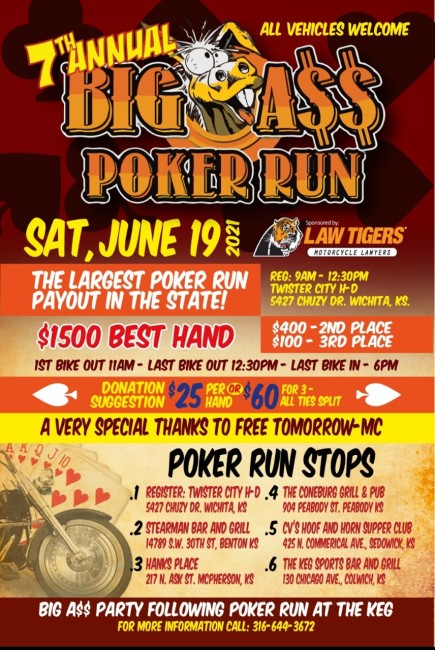 7th Annual Big A$$ Poker Run
