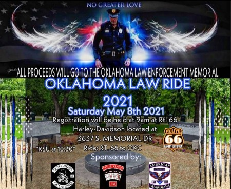 Oklahoma Law Ride 2021