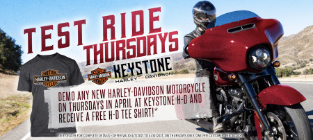 Test Ride Thursdays