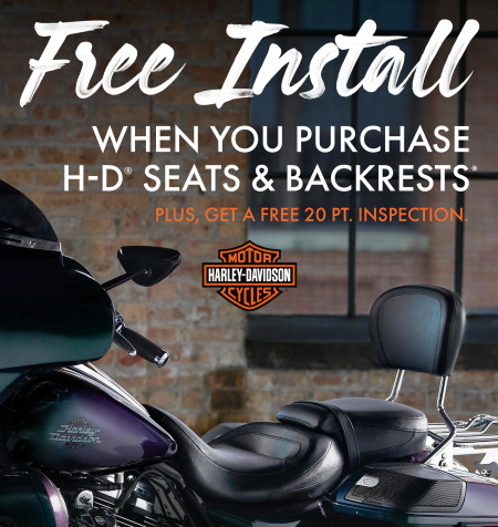 Free Install on Seats & Backrests*