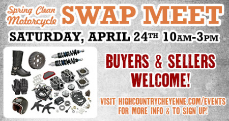 Spring Clean Motorcycle Swap Meet