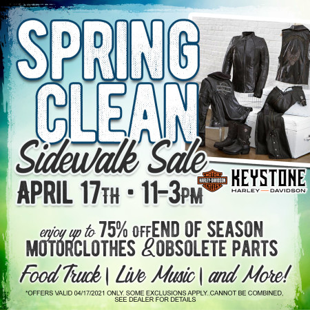 Spring Clean Sidewalk Sale
