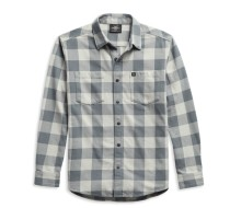 Men's #1 Logo Plaid Shirt