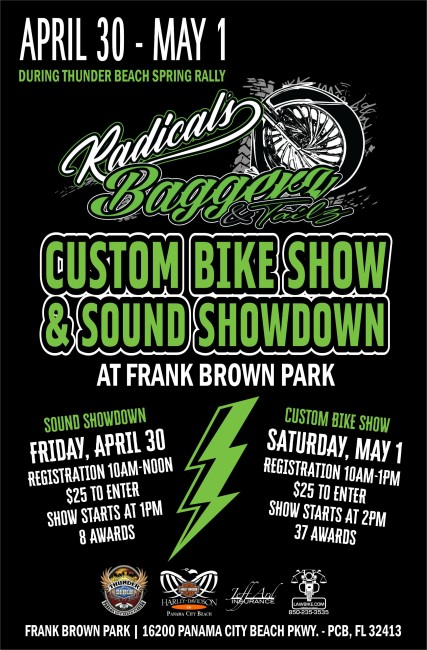 Radicals Custom Bike Show & Sound Showdown