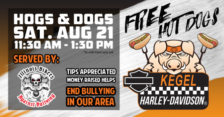 Hogs & Dogs - Illinois Bikers Against Bullying