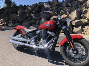 2018 Harley-Davidson® Softail Slim® Wicked Red thumb 2