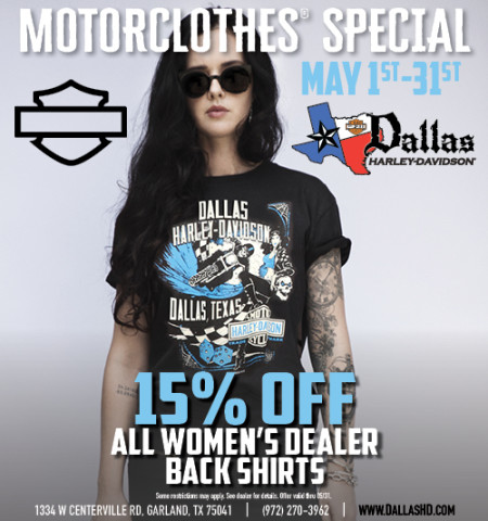 May Motorclothes Special