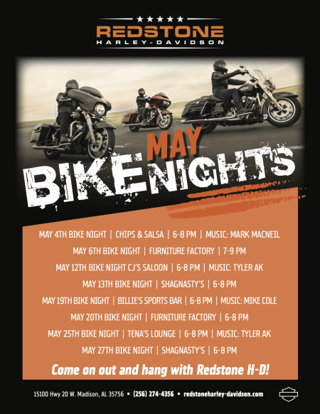 May Bike Nights