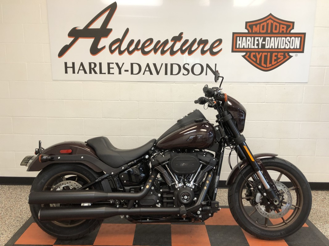 Harley-Davidson<sup>®</sup> Low Rider<sup>®</sup> S 2021 FXLRS 034387N MIDNIGHT CRIMSON