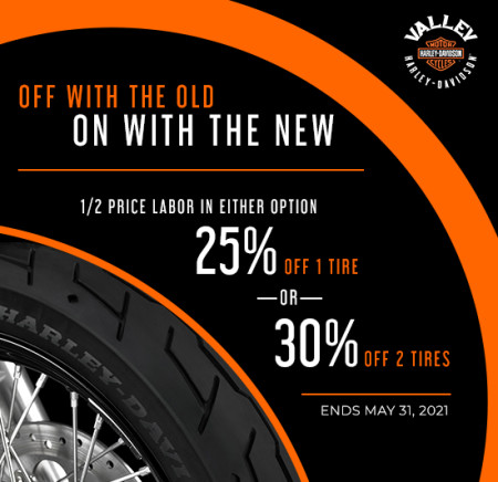 May Tire Special Offer