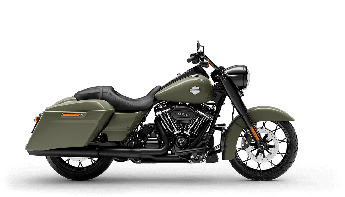 2021 Harley-Davidson® Road King® Special Deadwood Green