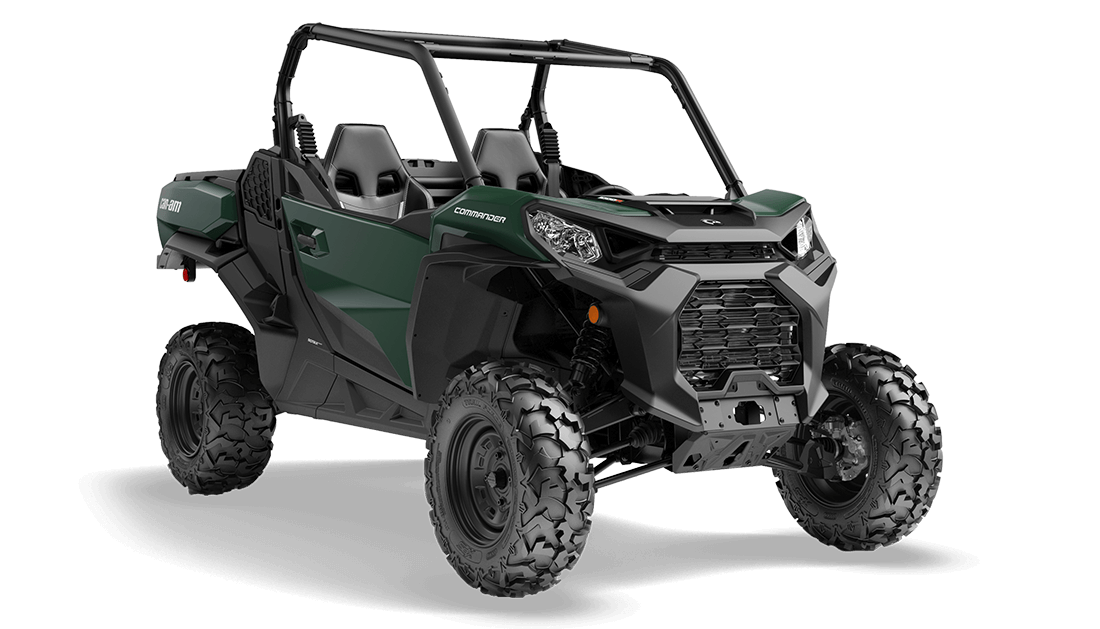 2021 Can-Am Commander DPS 1000R Tundra Green