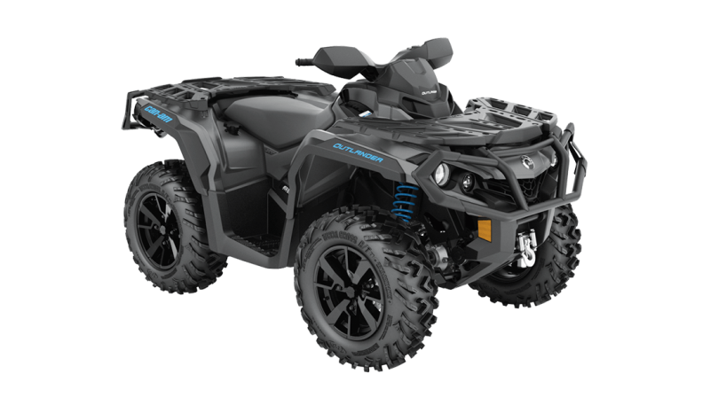2021 Can-Am Outlander XT 850 Iron Gray & Octane Blue