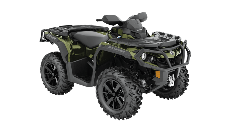 2021 Can-Am Outlander XT 850 Boreal Green