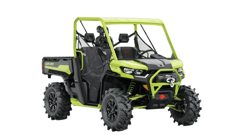 2021 Can-Am Defender X MR Iron Gray & Manta Green