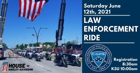 2021 Law Enforcement Ride