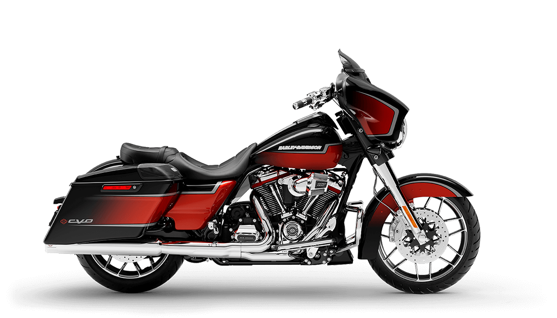 2021 Harley-Davidson® CVO™ Street Glide® Sunset Orange Fade & Sunset Black