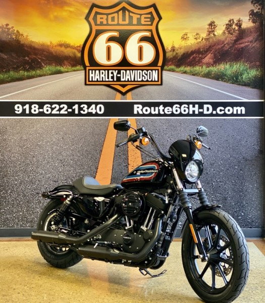 Black 2021 Harley-Davidson® Iron 1200™ XL1200NS