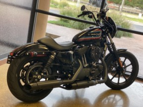 Black 2021 Harley-Davidson® Iron 1200™ XL1200NS thumb 1