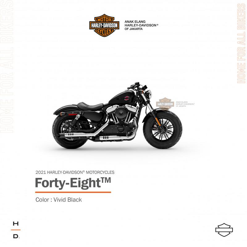 Harley Davidson Sportster Forty Eight Anak Elang Harley Davidson Of Jakarta